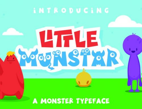 FREE Little Munstar-Fun Font