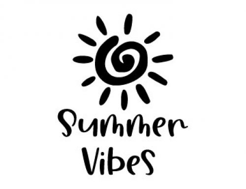 Summer Vibes Free SVG File