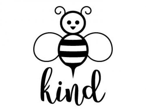 Bee Kind Free SVG File