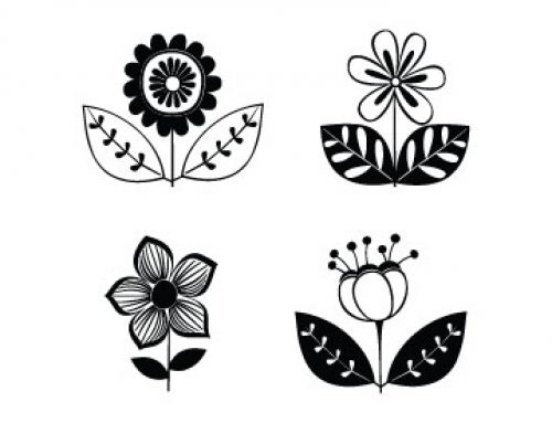 Free Flowers Svg Mini Bundle