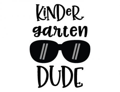 Kinder Garten Dude Free Svg File