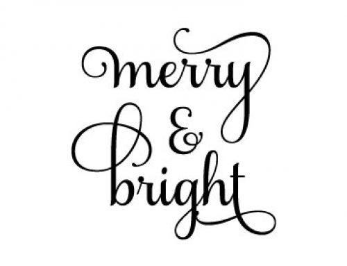 Free Marry And Bright SVG File