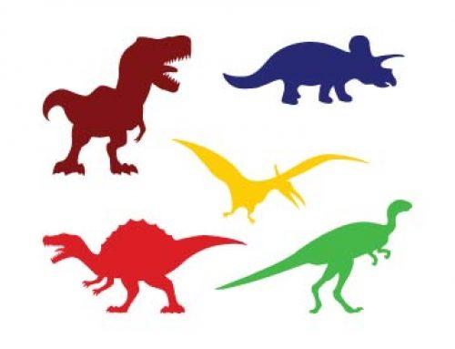 Free Dinosaur Silhouette Svg