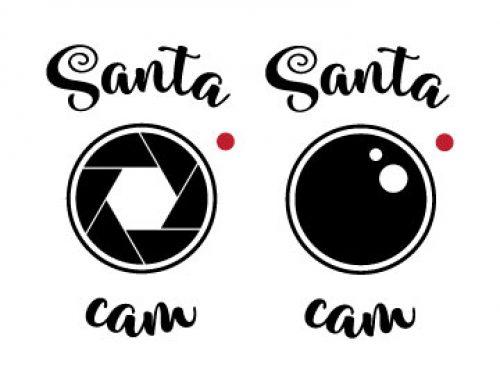 Santa Cam Svg