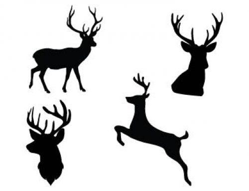 Deer Silhouette Svg Free