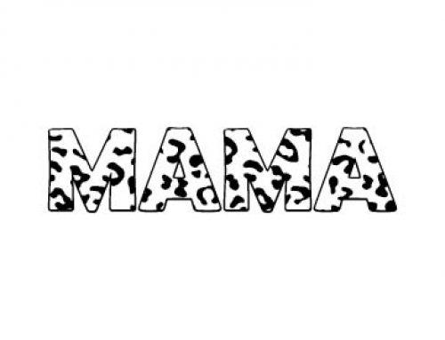 Mama Svg Free