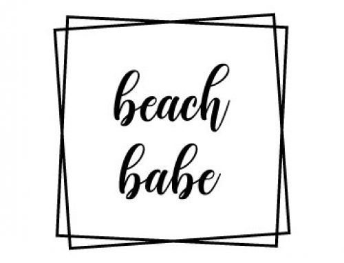 Beach Babe Svg Free