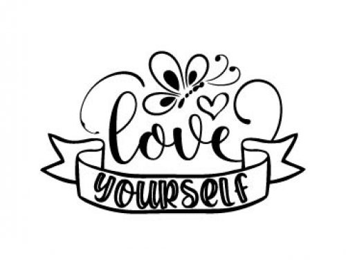 Love Yourself Svg Free